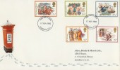 1982 Christmas, Allen, Brady & Marsh Ltd ABM Special FDC, London EC FDI
