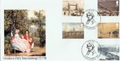 2002 Bridges of London, Peter Payne, Thomas Gainsborough Official FDC