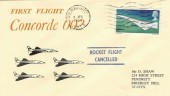1969 Concorde 002 First Flight, Wolverhampton Cancel, Scarce Cover Design