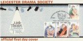1982 Theatre, Leicester Drama Society, Bradbury LFDC17 Official FDC, Leicester Drama Society Celebrate Their Diamond Jubilee H/S