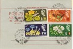 1964 Botanical Congress on Forces Airmail Letter, unusual Field Post Office 123 cds.