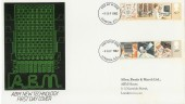 1982 Information Technology ABM Special FDC, London EC FDI