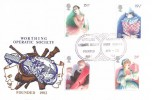 1982 British Theatre, Worthing Operatic Society Official FDC