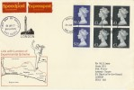 1977 Speedpost Extension Service Brighton - London  FDC. Very Rare Cover