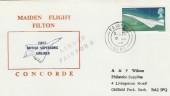 1969 Concorde Maiden Flight Filton Cover