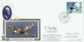 1997 Architects of the Air, Benham FDC. Signed by Dr.Gordon Mitchell