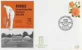 1976 Centenary of Essex Cricket Club, posted at the Ground Cover