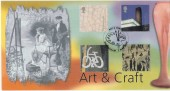 2000 Art & Craft Birmingham Bradbury FDC, Art & Craft Birmingham H/S