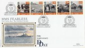 1994 D Day, Benham BLCS95 HMS Fearless Official FDC