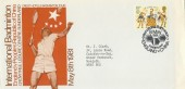 1981 International Badminton, England v China, Crowtree Leisure Centre, Sunderland Cover