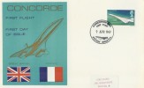 1969 First Flight Concorde 002 Filton Bristol Commemorative Cover, Filton Bristol H/S