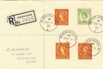 1956 Registered Cover from Birmingham, used on 29th February Leap Year
