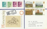 1979 Horse Racing, Registered PO FDC, Victoria St. Derby cds