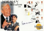 1998 Comedians, Westminster Autographed Official FDC, Signed by Norman Wisdom OBE