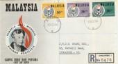 1964 Malaysia Eleanor Roosevelt Commemoration FDC