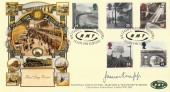 1994 Age of Steam, National Union of Railwaymen Workers, Covercraft FDC. Signed Jimmy Knapp