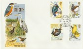 1980 British Birds Philart FDC, Relevant House of Lords cds