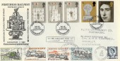1969 Investiture of Prince of Wales, Festiniog Railway Special FDC, First Day of Issue Day of Investiture Caernarvon H/S (in Welsh)