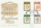 1980 British Conductors Royal Opera House Cotswold Official FDC, Royal Opera House London WC H/S