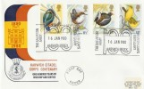 1980 British Birds, The Salvation Army Harwich Citadel 100 Years HR Official FDC, Harwich Corps Centenary Harwich Essex H/S