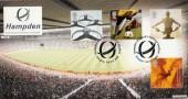 2000 Body & Bone, Hampden Scotland's National Stadium Bradbury Official FDC