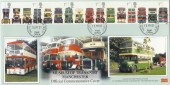 2001 Buses, Museum of Transport Manchester FDC, Trafford Park cds