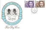 1973 Royal Wedding, Great Somerford FDC, Great Somerford Chippenham Wilts. cds