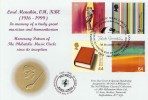 1999 Artists' Tale, Philatelic Music Circle, Lord Menuhin Official FDC