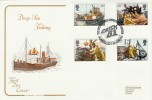 1981 Deep Sea Fishing, Cotswold FDC, Catch 81 Falmouth H/S