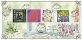 1999 Citizens' Tale, Bradbury Victorian no.134  Print FDC, Manchester cds