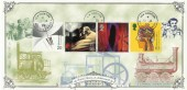 1999 Inventors' Tale, Bradbury Victorian Print FDC, New Invention Willenhall cds