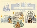 1987 Victorian Britian, on 1890 Penny Post Jubilee Card, Newport IOW H/S
