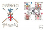 1984 Heraldry, College of Arms London EC, Cotswold Official FDC