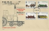 1975 Railways, Philart FDC, York FDI National Railway Museum