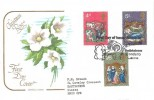 1970 Christmas, First Cotswold FDC, Bethlehem Llandeilo H/S