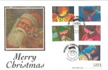 1998 Christmas, Westminster, Merry Christmas Official FDC