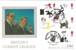 1998 Comedians, Westminster, British Comedy Legends, Morecambe & Wise Official FDC