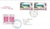 1971 Jersey Europa Mail Delivery Strike Post Cover