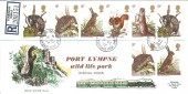 1977 Wildlife, Registered RHDR FDC, Badgers Mount Sevenoaks Kent cds. Scarce