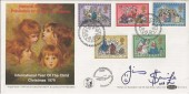 1979 Christmas, Benham BOCS 15 FDC, First Day of Issue Bethlehem H/S, Signed by Jimmy Saville
