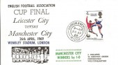 1969 FA Cup Final Cover, Leicester City v Manchester City