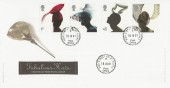 2001 Fabulous Hats, Royal Mail FDC, High Street Ascot cds