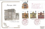 1990 Europa, Cotswold FDC, Be Properly addressed POSTCODE it Slogan