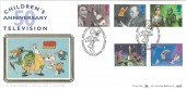 1996 Children's TV Danger Mouse, Pilgrim Official FDC