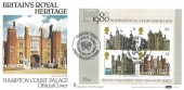 1978 Historic Buildings Miniature Sheet, Benham BOCS 2e FDC, Hampton Court England's Oldest Tennis Court  Kingston Upon Thames H/S