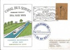 1973 Canal Bus Service Uxbridge - Yiewsley Commemorative Cover