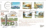 1981 National Trust, RAF Fylingdales FDC No.4 Official FDC. Signed