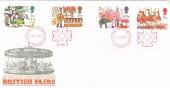 1983 British Fairs, Royal Mail FDC, National Postal Museum London EC1 H/S. Scarce