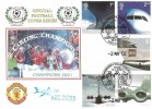 2002 Airliners, Manchester United Premiership Champions Again! Dawn Official FDC, Manchester United Museum H/S