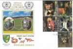 2004 Woodland Animals, Norwich City Division One Champions 2004, Dawn Official FDC